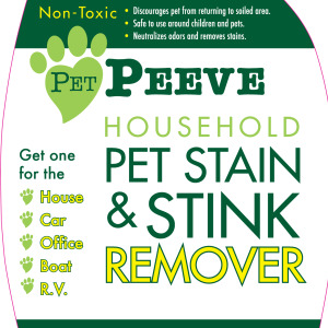 Pet Peeve Amazon Graphic - Front Label - White